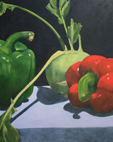 stilleven-rood-en-groen